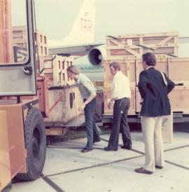 Leo in actie op MST 1975 Scan10033