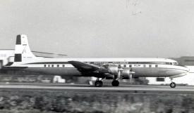33163 - Douglas DC-7C PH-DSG KL EHAM t.o. Scan10210