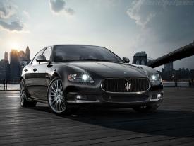 Maserati Quattroporte - schoonheid
