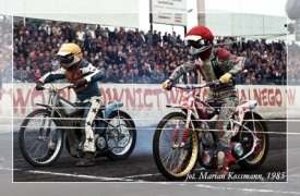 Speedway at the start