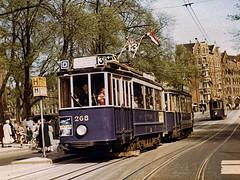 GVB - Lijn 13 Westermarkt 1955