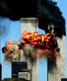 Twin Towers on 9-11