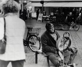 Voor sommige oudere werklozen rest nog slechts een plekje op straat...