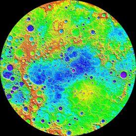 Mercurius uiPIA19420-Mercury-NorthHem-Topography-MLA-Messenger-20150416
