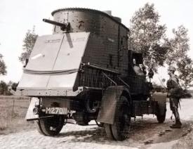 10 mei 1940 - Nederlandse pantserwagentruck