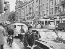 Amsterdam - verkeersbeeld jaren zestig 10009A002137