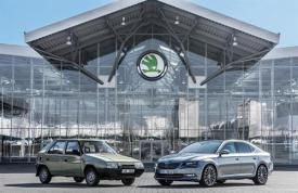 25 jaar Skoda en VW in MB
